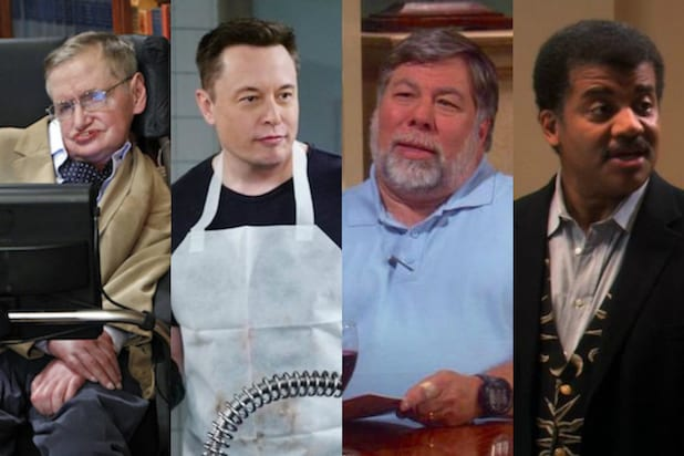 Big Bang Theory Cameos