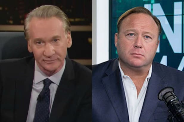 Bill Maher Alex Jones