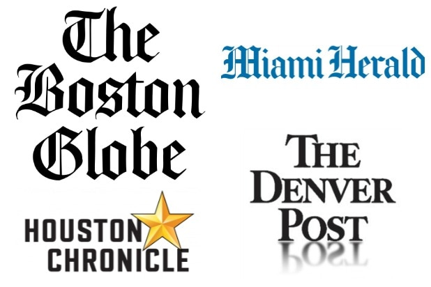 Boston Globe Denver Post Miami Herald Houston Chronicle