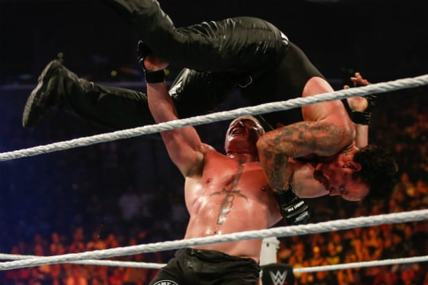 Brock Lesnar vs. The Undertaker - SummerSlam 2015