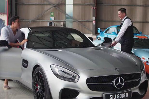 crazy rich asians cars