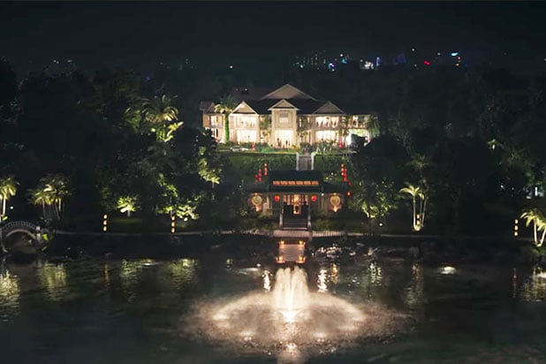 Crazy Rich Asians mansion