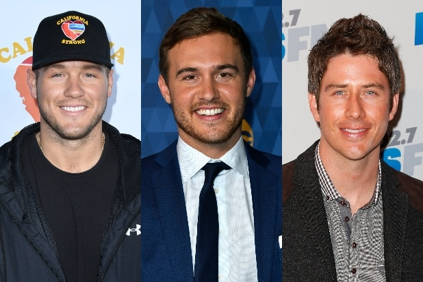 Colton Underwood, Peter Weber, Arie Luyendyk Jr.