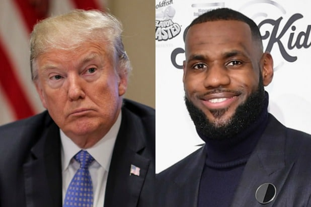 Donald Trump LeBron James