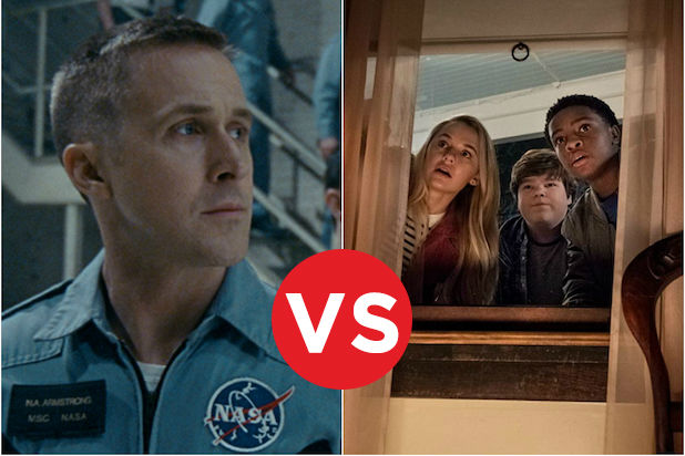 Box Office Showdowns First Man vs Goosebumps 2