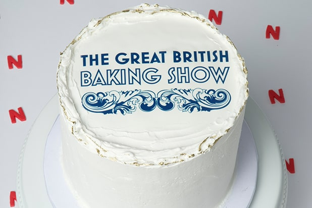 Great British Baking Show on Netflix