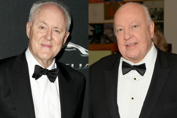John Lithgow and Roger Ailes