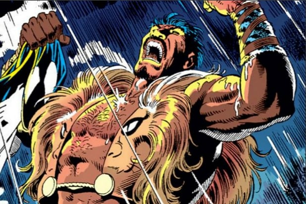 Kraven the Hunter Equalizer Richard Wenk