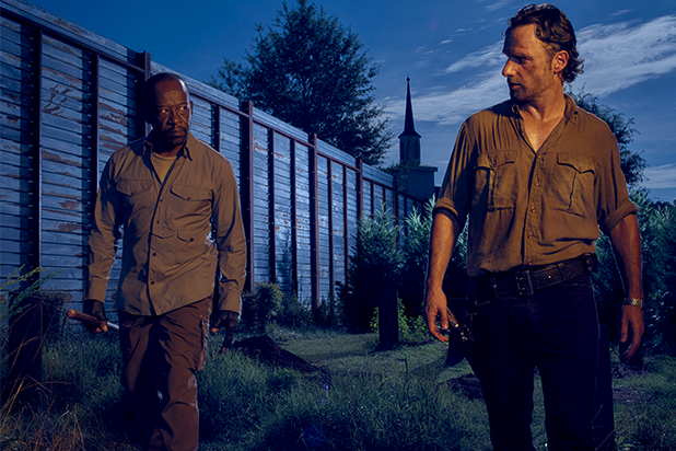 Lennie James and Andrew Lincoln