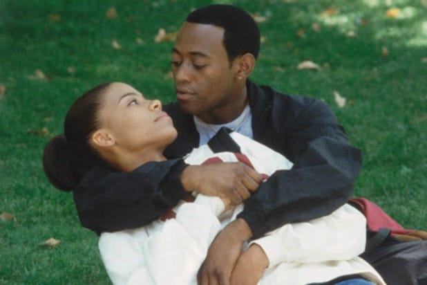 "Sanaa Lathan and Omar Epps in ""Love and Basketball"""