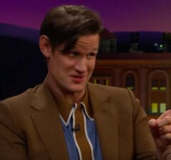 Matt Smith on 'The Late Late Show'