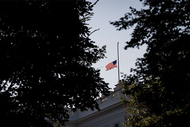 Trump Balks at Half-Staff Flag Tradition for McCain