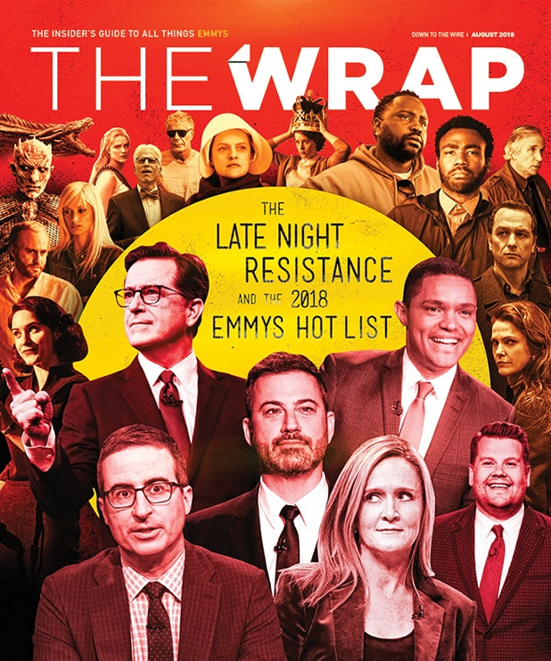 TheWrap Emmy magazine 2018 Down to the Wire cover