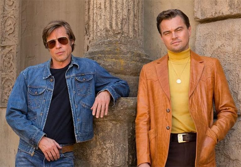 Brad Pitt Leonardo DiCaprio Once Upon A Time In Hollywood Tarantino