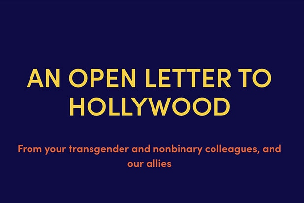 Open Letter Transgender Inclusion
