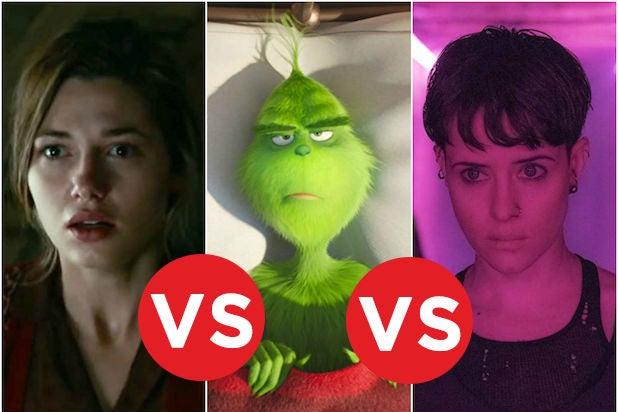 Box Office Showdown Overlord vs Grinch vs Spiders Web
