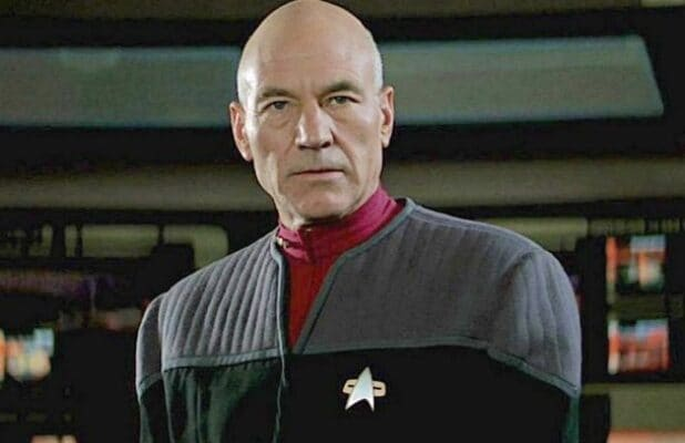 Patrick Stewart Jean Luc Picard Star Trek