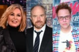 roseanne barr, louis c.k. james gunn