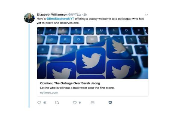 NYT Tweet