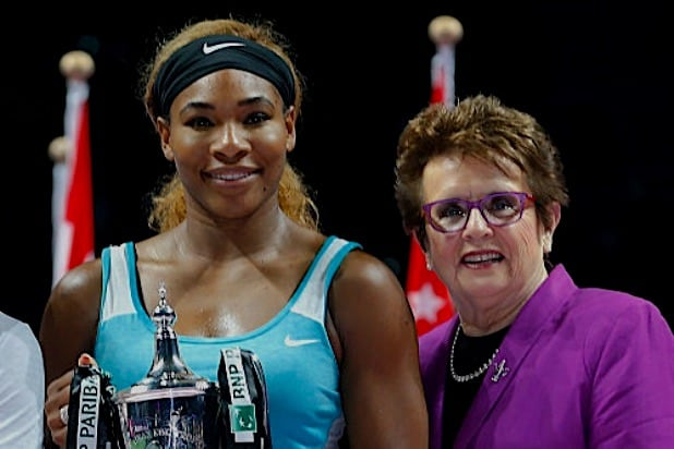 Serena Williams Billie Jean King