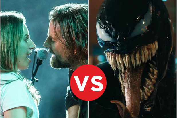 Box Office Showdowns a Star is Born vs Venom