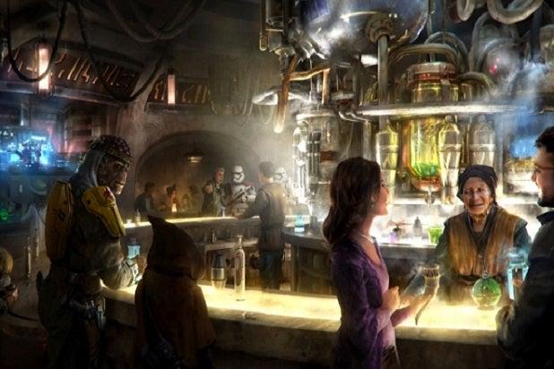 Stars Wars Oga's Cantina Disneyland Alcohol