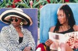 "Whoopi Goldberg (left) and Angela Bassett star in 1998's ""How Stella Got Her Groove Back"""