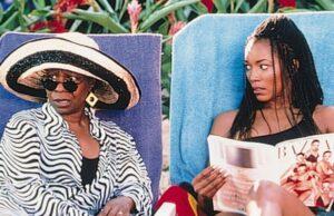 """Whoopi Goldberg (left) and Angela Bassett star in 1998's """"How Stella Got Her Groove Back"""""""