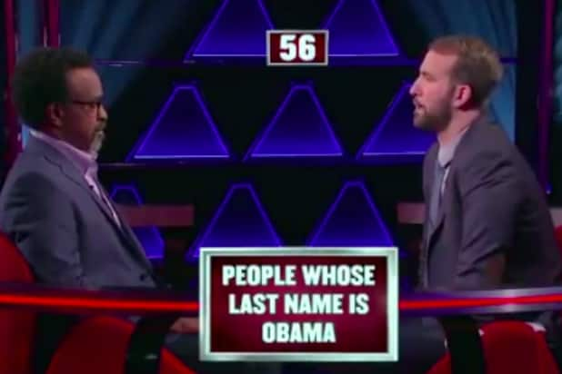 'The $100,000 Pyramid' People Whose Last Name is Obama