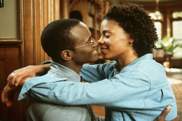 "Taye Diggs (left) and Sanaa Lathan in 1999's ""The Best Man."""