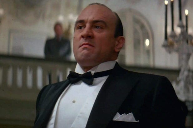 De Niro Al Capone The Untouchables