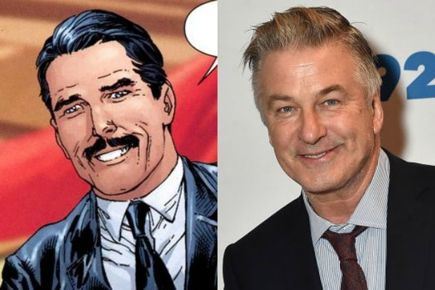 Thomas Wayne Batman Alec Baldwin Joker
