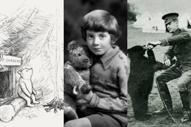 Winnie the Pooh Christopher Robin Milne AA Milne