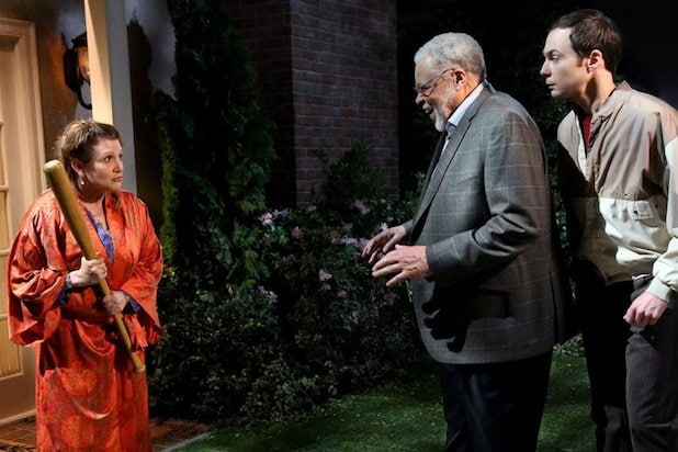 Big Bang Theory Carrie Fisher James Earl Jones