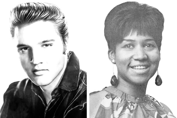 Elvis Presley Aretha Franklin Both Died On August 16 Long Live