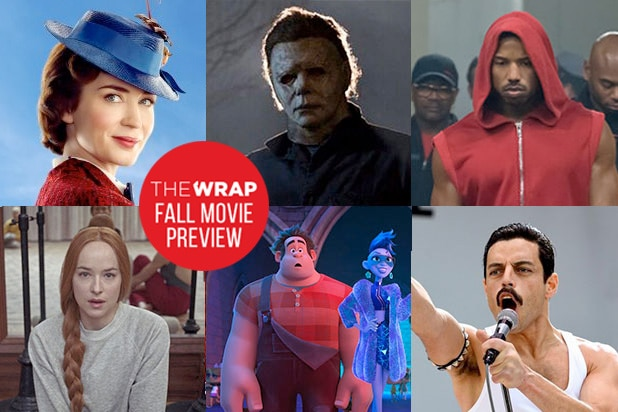 2018 Fall Movie Previews