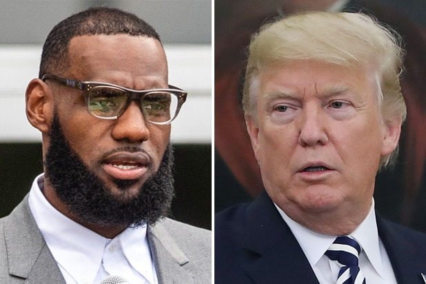 lebron james donald trump