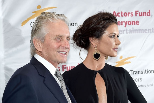 Catherine Zeta Jones Shares Pic Of First Time She Met Michael Douglas