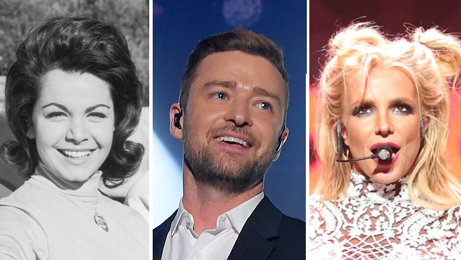 mouseketeer annette funicello justin timberlake britney spears