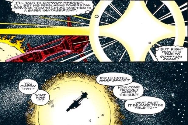 quasar quantum jump warp space captain marvel
