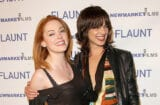 ctresses Rose McGowan and Asia Argento attend the premiere of 'Spun' at Pacific's Cinerama Dome Theater on March 17, 2003 in Hollywood, California
