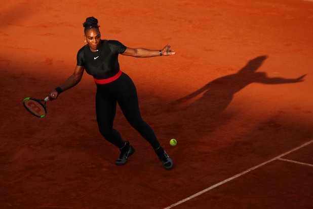 2018 French Open Serena William