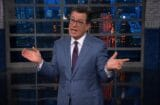 the late show with stephen colbert donald trump meeting with robert mueller witch hunt