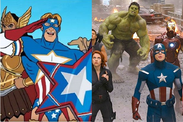 venture bros marvel references Crusaders Action League Avengers