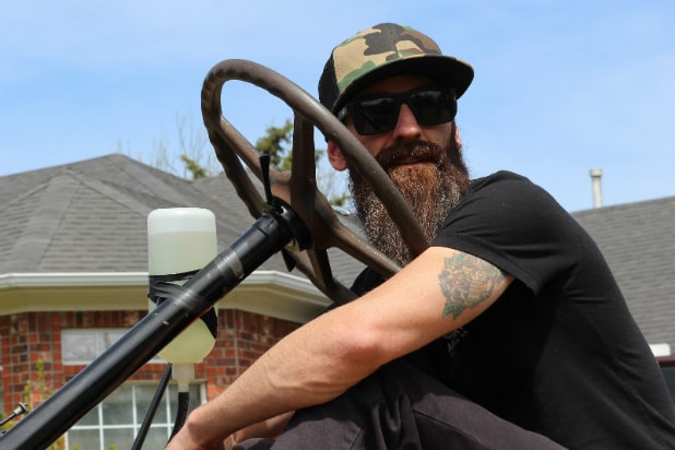 Fast N' Loud' Star Aaron Kaufman Plays in the Dirt on