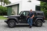 Alex Rodriguez Jeep
