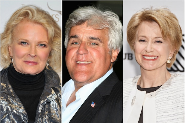 Candice Bergen Jay Leno Jane Pauley