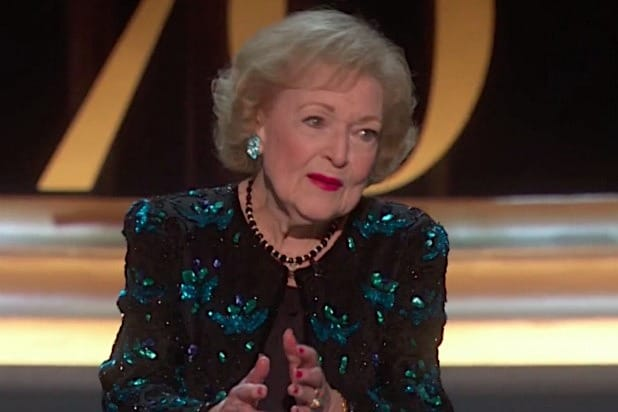 Betty White 70th Emmys 2018
