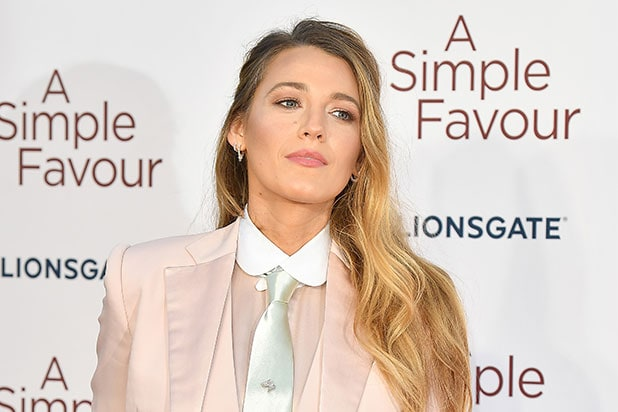 6e3b55eaf35c9 Blake Lively Signs First-Look Deal With Amazon Studios