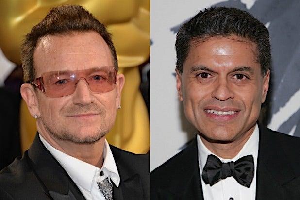 Bono U2 Fareed Zakaria